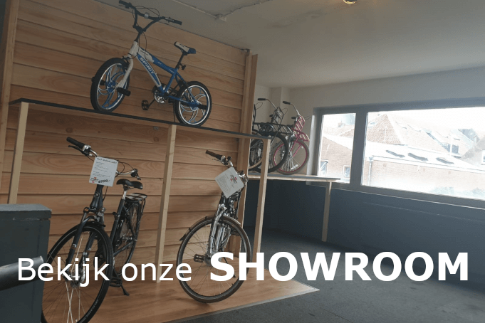 Showroom zanen tweewielers
